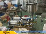 remplissage manuel de la pâte 1000ml (avec la chaufferette et le mélangeur)