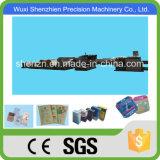 SGS aprobó la hoja automática que alimenta la bolsa de papel que hace la máquina