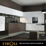 Meubilair van de Keuken van het Ontwerp van de Lade van de duw het Open (AP009)