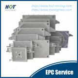 Плита давления фильтра мембраны высокого давления автоматическая гидровлическая