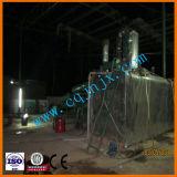 Отходы переработки масла в двигателе машины с помощью оборудования для утилизации отработанного моторного масла