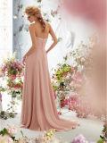 Geparelde Chiffon A - de Formele kledingen van de Avond van Prom van de lijnStijl (ED3030)