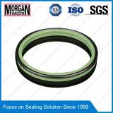Tipo anello di chiusura dell'annuncio della ruspa spianatrice del cilindro idraulico Rubber/PTFE di resistenza all'usura