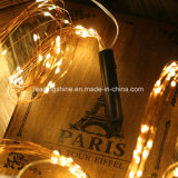 Adaptateur Exploité Indoor stand LED étoilées de lumières multi-blanc chaud