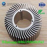 La aleación de aluminio a presión la cubierta tubular del disipador de calor de la fundición LED