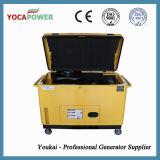 Fase 3 de 10 kVA de potencia del motor diesel silencioso generador