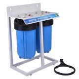 Фильтр голубой воды 2 этапов большой с стальной полкой