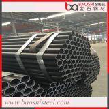 Q235 ERWによって溶接される黒い炭素鋼の管