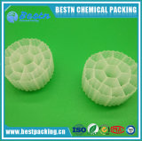 Plástico MBBR medios de filtración para tratamiento de agua