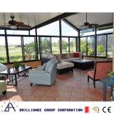 Het de gelamineerde Villa van de Bril van de Veiligheid en Aluminium Sunroom van de Tuin