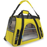 Airline Approved Pet Carriers W / Fleece lit pour chiens et chats Indoor / Outdoor Pet Home, Deluxe Pet Carrier