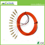 Sm mm APC fiber Optic Pigtail fiber Optic Patch Cord