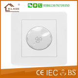 45A White PC Air Conditioner Red Push Button Wall Switch