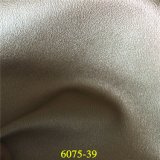 Cuero material del calzado de la PU del grano del zapato ambiental de moda del diseño