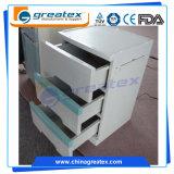 Al lado del Hospital de plástico ABS gabinetes de almacenamiento con tres cajones (GT-TA100)