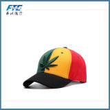 Sombrero estructurado del Snapback de la gorra de béisbol de la insignia del bordado 3D