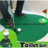 ゲームの洗面所のゴルフを置く浴室のゴルフ