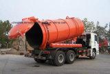 Sinotruk HOWO 6X4 하수 오물 흡입 트럭 무거운 수용량 18 M3 진공 트럭