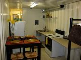 Camera del contenitore di Jill e del Jack con la cucina