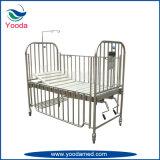 Reizbares Kind-Bett der Edelstahl-hohe Schienen-2