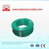 Fio elétrico elétrico isolado PVC de cobre do condutor