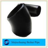 継ぎ目が無いA234 Wpb Sch40 ASME B16.9 45度の炭素鋼の管の肘