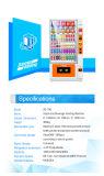軽食および飲料Zoomgu-10gのための24の時間のセルフサービスの自動販売機冷やされている