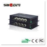 Vidéo de 4CH+1CH Données(RS485), une seule fibre optique, le convertisseur de vidéo numérique