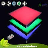 Luz LED de Telha de 400*400mm RGB Vidro com CE/RoHS/IEC Approvado