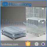 Gaiola de aço de dobramento do armazenamento do armazém móvel do rolamento
