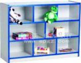 Meubilair voor Opvang, het Kabinet van de Opslag van de Kleuterschool, de Goedkope Plastic Kabinetten van de Opslag