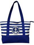 Anchor Striped Galpão Weekender saco de praia