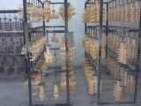 Roue de poulie à charpente de fonte en fonte usée personnalisée OEM