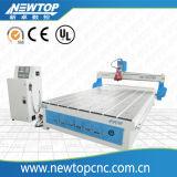 小さい木製の切り分ける機械アクリルの彫版CNC Router2040atc