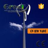 turbina di vento verticale di asse 1kw con le lamierine 3PCS