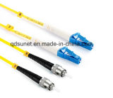 Fibre optique duplex Patchcord de SM de St/Upc-LC/Upc