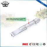 Vaporisateur sec d'herbe de l'atomiseur E du bourgeon Gl3c 0.5ml de Cig de crayon lecteur remplaçable en verre de Vape