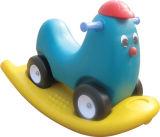 楽しみの子供のおもちゃの教育揺り木馬の子供装置