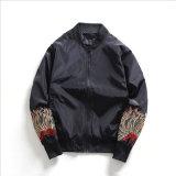 Куртки втулок свободного одеяния Broderie длинние для одежд человека