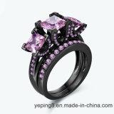 분홍색 가게 호화스러운 약혼 반지 (- 149를 놓으십시오)