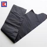LDPE/HDPEのカスタム黒いねじれタイのごみ袋