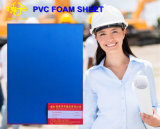 Folha de espuma de PVC fina azul