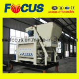 Mezclador concreto del eje gemelo ampliamente utilizado Js1500 para la planta de mezcla concreta