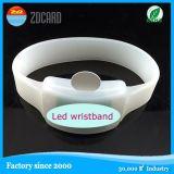 Wristband силикона СИД полосы браслета способа резиновый