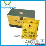 包装のためのカスタムプリントペーパー及び木の茶ボックス