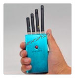 小型ポケット4バンドシグナルの妨害機; 2g/3G携帯電話およびWiFi/Bluetoothシグナルの妨害機またはブロッカー