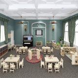 Le style nordique série classe de maternelle dans l'École de garderie pour enfants dessins et modèles de meubles en bois