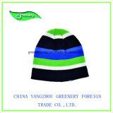Sombrero simple del invierno de Earflap del telar jacquar de los niños promocionales