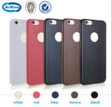 iPhone 6のためのTPU Leather Cell Phone Accessories Case