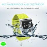 Самый новый водоустойчивый франтовской браслет IP67 с Multi-Color (X9Plus)